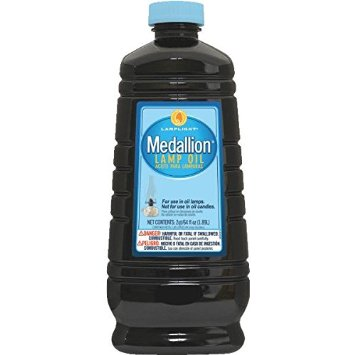 Lamp Oil 64 oz Medallion - Clear