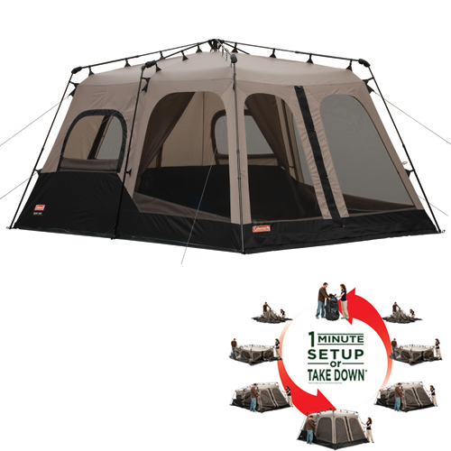 Coleman Instant Tent From Leacock Coleman Center