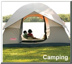 Camping supplies, tents at leacockcolemancenter.com