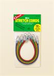 ^10^^ Mini Stretch Cords (Pkg.Of 4)^