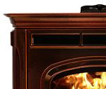 Absolute 43 Pellet Stove - Majolica Brown