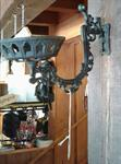 Black Wrought Iron Bracket