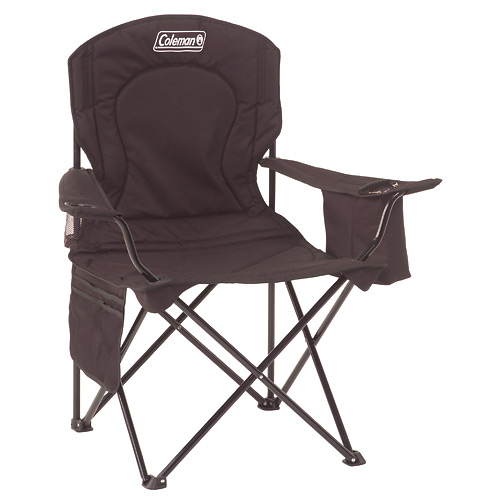 Chair - Oversized Quad W/ Cooler - Black