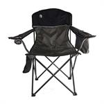 Chair - Oversized Quad W/ Cooler - Gray/Black