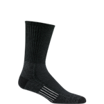 Cool Lite Hiker Pro Crew Sock-Black/Charcoal