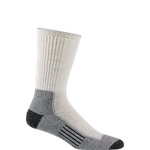 Cool Lite Hiker Pro Crew Sock-White/Pewter