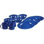 Dining Set / 12 Piece - Blue