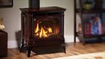 H355-10 DV Stove Timberline Brown