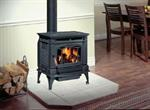 Hampton Large Wood Stove - Charcoal