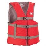 Life Vest -Adult Universal - Red/Gray