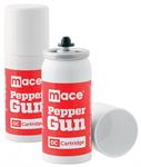 Mace Pepper Gun Refill Cartridges, 2-Pack OC Pepp
