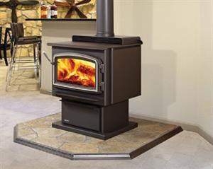 Medium fire box wood stove - Small space wood stove model ...