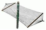 Nylon Hammock W/Spreader Bars