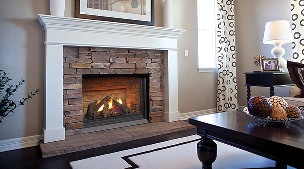 P33CE-NG10 Direct Vent Fireplace