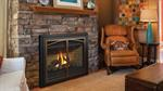P36D-10 Direct Vent Fireplace - Deep