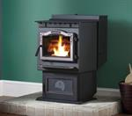 P61A Pellet Stove Automatic Ignition- w/Black Door