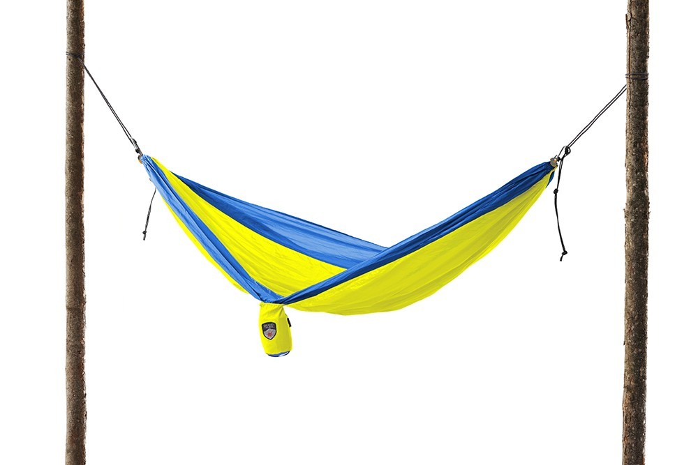 Parachute Nylon Double Hammock Royal Blueneon