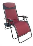 Patio Texline Recliner - King Size / Burgundy