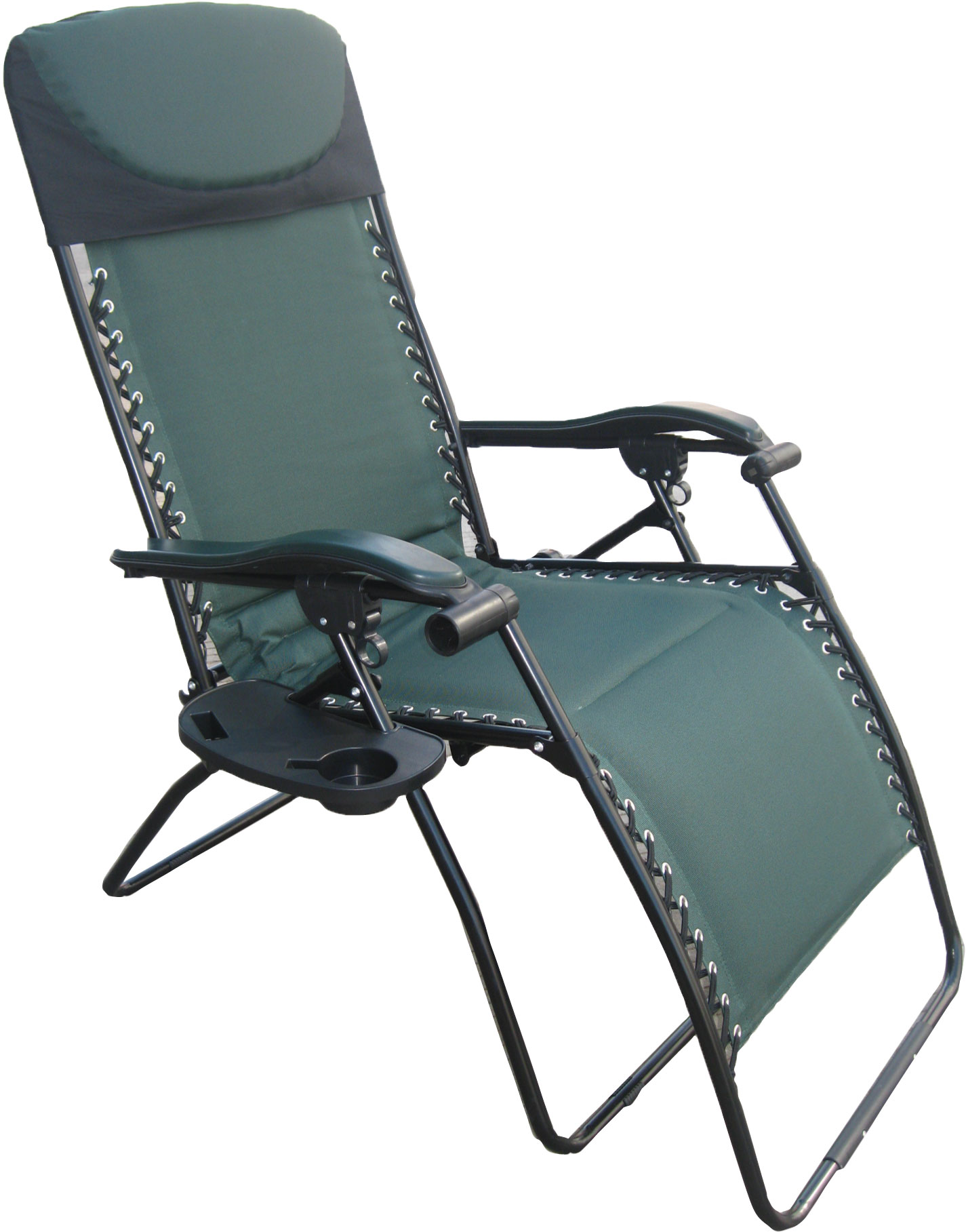 Patio Texline Recliner / Green