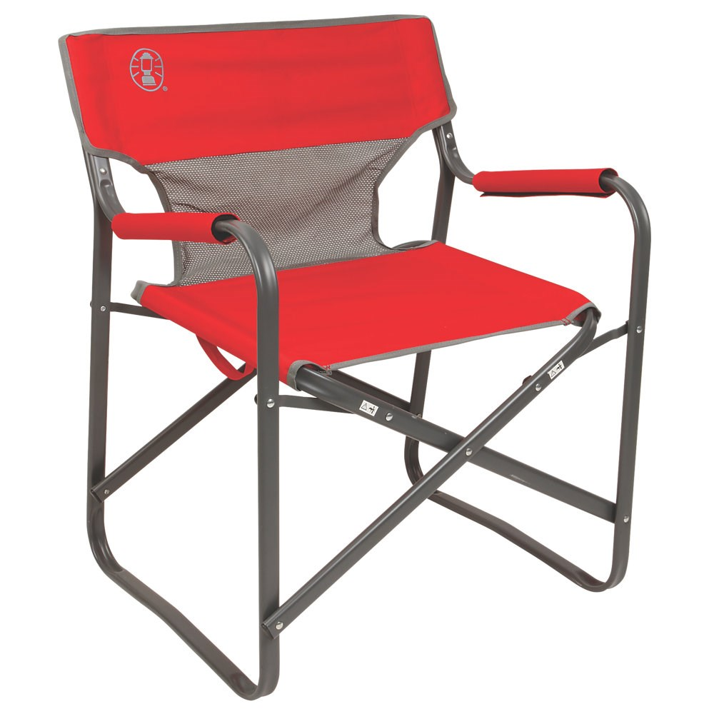 Portable Deck Chair by Coleman (Red)